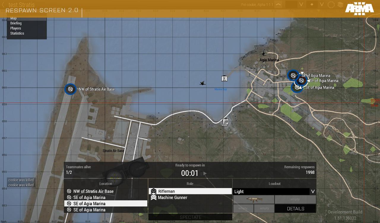 OPREP - RESPAWN OVERHAUL | Dev Hub | Arma 3